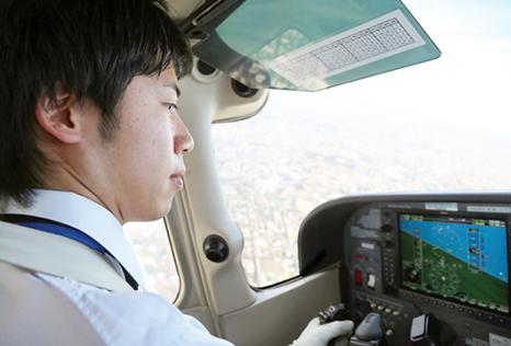 航空機使用事業パイロット